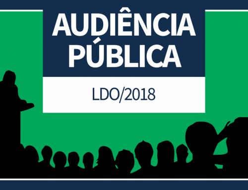 Câmara realiza Audiência Pública para debater LDO